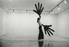 Sylvia Palacios Whitman (b. 1941),Passing Through, performance at Sonnabend Gallery, New York, May 20, 1977. Courtesy the artist.  Photograp...