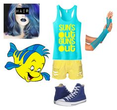 """""""Flounder"""" by epgty ❤ liked on Polyvore featuring Converse"""