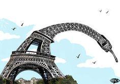 Vu du Royaume-Uni. Malheureux comme un Français | Courrier international