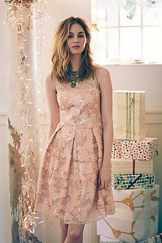 #Sugarberry #Dress #Anthropologie Crystal, do you like the box pleats?  You know how I love structure.