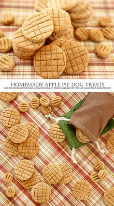 Apple Pie Dog Treat Recipe check out www.upscaledogtoy… – excellent dog toys … Apple Pie Dog Treat Recipe check out Homemade Dog Cookies, Homemade Apple Pies, Homemade Dog Food, Puppy Treats, Diy Dog Treats, Healthy Dog Treats, Healthy Pets, Dog Biscuit Recipes, Dog Treat Recipes