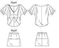nice skirt style