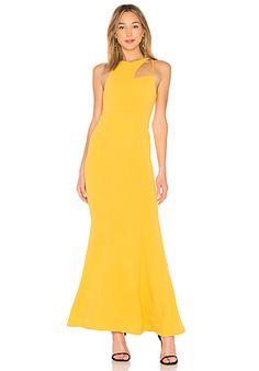 1a3dd7b7ba6 Rhea Gown Yellow Evening Gown
