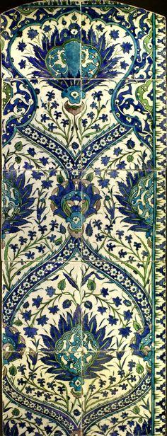 Torino, MAO, Kachelpaneel, Syrien, 17. Jh. (glazed tile panel, Syria, 17th century)