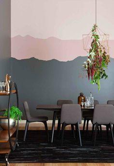 trends 2016 farben kreative wandgestaltung und aktuelle wandfarben - Aktuelle Wandgestaltung