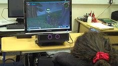 Eye-controlled computer games for disabled children
