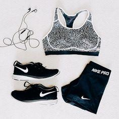 Instagram media by bethanymarieco - Workout in style. @nike #justdoit
