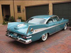 1959 Plymouth Sport Fury.