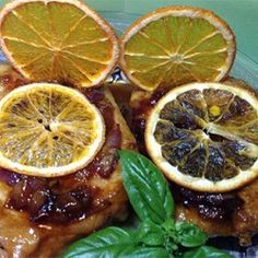 """Orange Shallot Marsala Pork Chops 