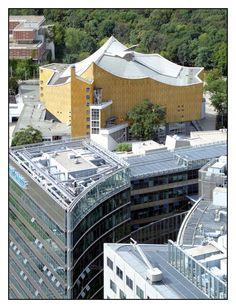 Berlin, Philharmonie, Hans Scharoun   von PROFI-LACK-TISCH