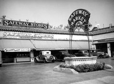 A Safeway Market located at 5509 Sunset Boulevard in Hollywood (ca. 1937)