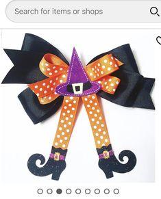 Halloween Hair Bows, Accessories, Fashion, Moda, Fashion Styles, Fashion Illustrations, Jewelry Accessories