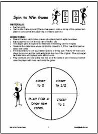 This site has a few games for practicing fractional concepts.
