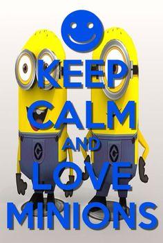 Keep calm and love dcripable me