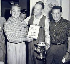 James Cagney with Bob Hope