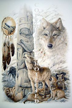 Wild Wolves   spirits of the eagle spirits of the bear spirits of the wolf