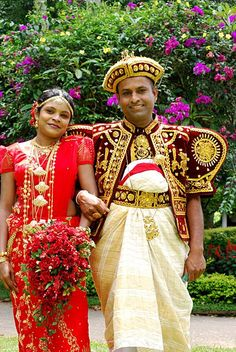 Pin for Later: 19 Stunning Wedding Dresses From Around the World Sri Lanka