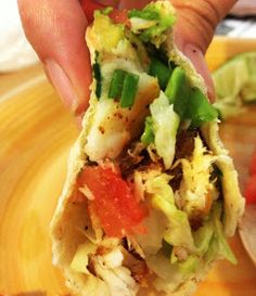 Oh MY - Because of this recipe - we have had fish tacos once a week for three weeks, and are planning on continuing that tradition. : Tilapia fish tacos