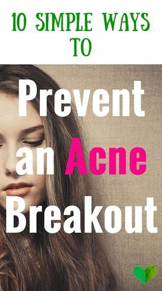 Dreading the next acne breakout? Just try these tricks to make sure your face stays fresh and spotless: #acne #remedy