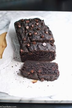 GF Double Chocolate Zucchini Bread - This zucchini bread has twice the chocolate, and is gluten-free too!