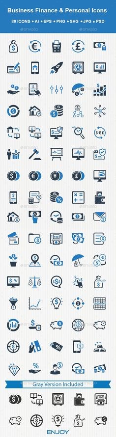Personal And Business Finance Icons by Bismillah_bd Smart 80 Business Finance & Personal Icons set. This icons set can be used for designing and developing websites, as well as print Mortgage Humor, Mortgage Loan Officer, Mortgage Tips, Business Icon, Business Website, Business Cards, Finance Logo, Best Icons, Apps