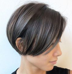 Clean and Simple Short Bob #shortcurlyhair