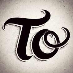"""To"" __ Hand Lettering by [ts]Christer"