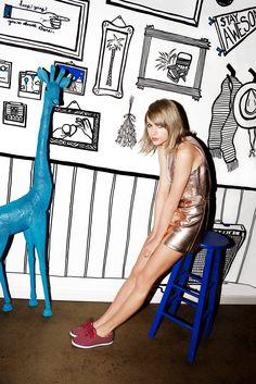 Taylor Swift I would really like some keds. Maybe the new ones with the little kitties