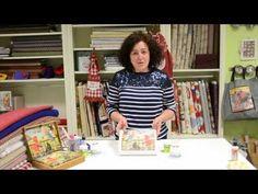 Transferencia de imágenes a distintos soportes - YouTube Quilt Tutorials, Art Tutorials, Decoupage, Foto Transfer, Polymer Clay Tools, Craft Videos, Handicraft, Cross Stitch, Diy Crafts