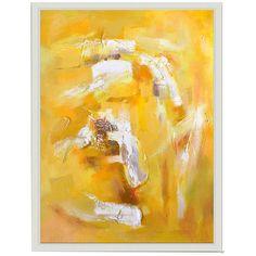 Bassett Mirror Thoroughly Modern Jaune Tourbillon Art
