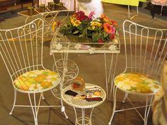 Vintage Patio Furniture Vintage Garage Chicago from July 15th! Next show August 19th, www.vintagegaragechicago.com