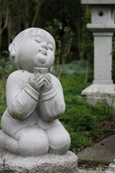 A Buddhist Statue at the Fo Guang Shan Buddhist Temple, Auckland.