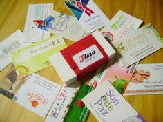 Tarjetas personales - Business cards - Tandil