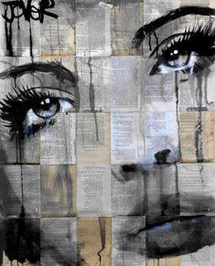 "Saatchi Art Artist Loui Jover; Drawing, ""from when"" #art"