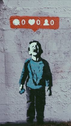 Funny pictures about Banksy On Social Network Madness. Oh, and cool pics about Banksy On Social Network Madness. Also, Banksy On Social Network Madness photos. Street Art Banksy, Banksy Graffiti, Stencil Graffiti, Banksy Artist, Banksy Work, Banksy Canvas, Street Mural, Graffiti Artists, Graffiti Lettering