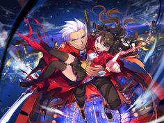 Fate Archer x Rin by empew.deviantart.com on @DeviantArt