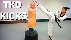 TKD KICKS   BOB XL & Wavemaster XXL Roundhouse Kick, Karate Kick, Social Media Video, Stretching, Spinning, Kicks, Bob, Hand Spinning, Bob Cuts