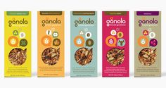 Gånola Bars - The Dieline -