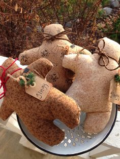 CHRISTMAS SALEPrim Gingerbread Man Christmas Decor by LilBeansShop, $10.35