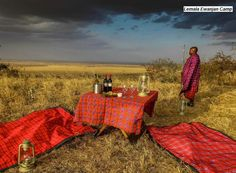 Dining in the African bush with Lemala Safari Camps