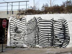 Street art in Chicago, Illinios USA, by Specter #specter #chicago #streetart