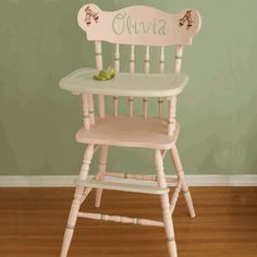 17 best images about baby items makeovers on pinterest wood high chairs children play and how to paint