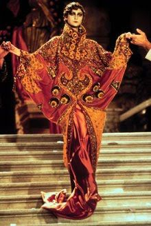 John Galliano for Christian Dior Haute Couture, SS98 inspired by Marchesa Luisa Casati