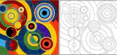 Robert Delaunay , a French painter, print-maker and writer, used Cubism as one of his points of departure. By the 1930s his work was a stu...