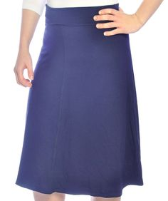 Kosher Casual Kids Big Girls Modest Knee Length Stretch Pencil Skirt in Lightweight Cotton Lycra