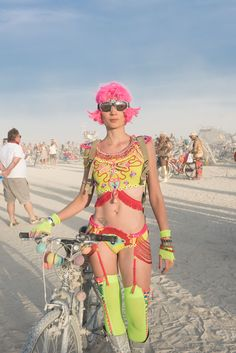 Burning Man outfit created by me                                                                                                                                                      More