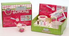 Create Your Own Sugar Scrub Sundae | underthecarolinamoon.com #UTCM #SugarScrub #GirlsDay #sundae