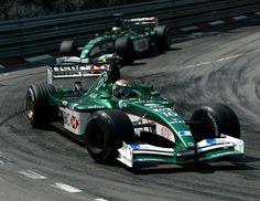 2002 Jaguar R3 - Cosworth (Eddie Irvine & Pedro de la Rosa)