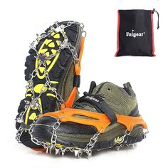 95bae4890 Buy Now - Unigear Traction Cleats Ice Snow Grips with 18 Spikes for Walking