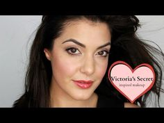 ▶ VICTORIA'S SECRET MODELS inspired makeup - YouTube